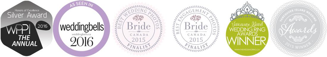 Vancouver Island wedding Photography awards